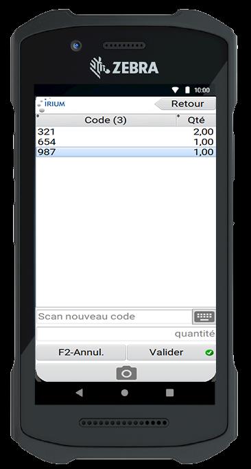 inventario con código de barras